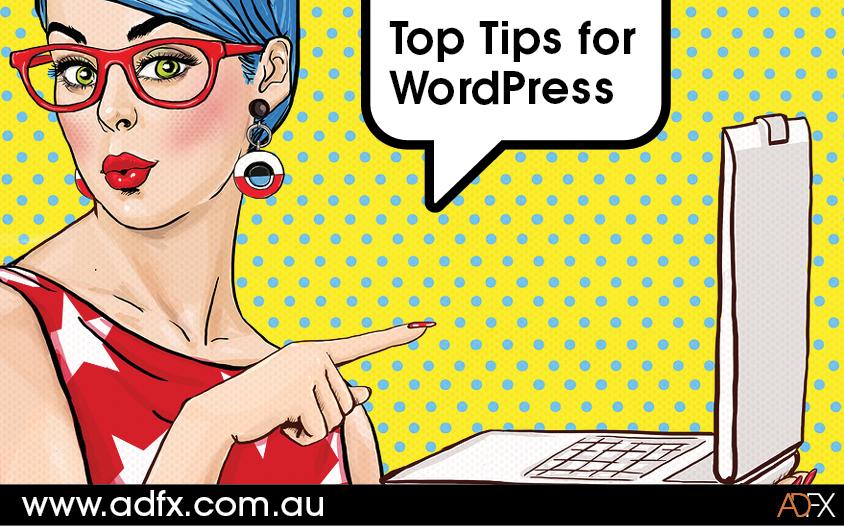 ADFX's Top Tips for WordPress Websites
