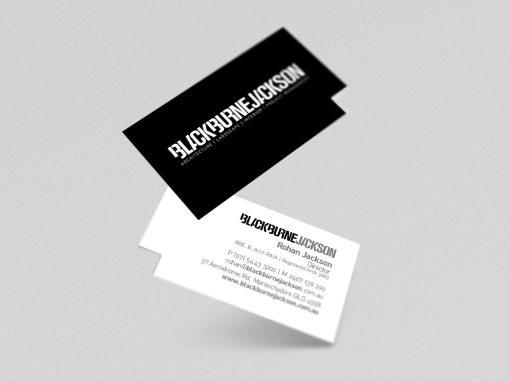 Blackburne Jackson Branding