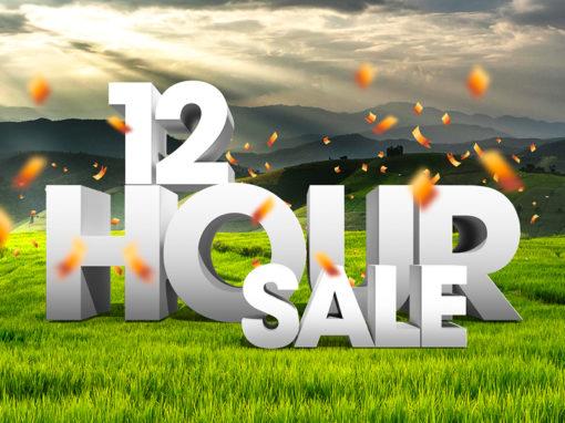 Kratzmann 12 Hour Sale